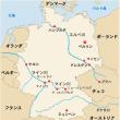 ライン川流域の都市(上流から)