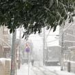 雪かき、無駄に終わる