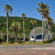 大堂津海岸の貝殻ステージです。 (Photo No.14294)