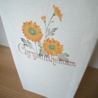 四季の花のダストボックス♪