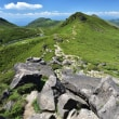 夏のくじゅう連山からp22(D810、18-35mm)中岳から天狗ケ城へ