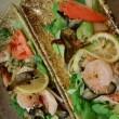 春 焼魚のサラダ仕立て