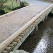 兼六園 橋巡り ③明治記念之標前の石橋、花見橋、山崎山下の土橋
