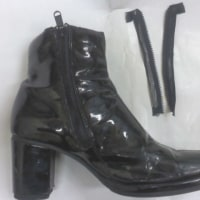 ブーツのファスナー