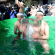 鐵砲州稲荷神社、寒中水浴大会・・4