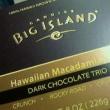 ビッグアイランドのチョコレートは格別に美味しかった。塩味の濃度が完璧〜