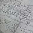 (仮称)暮らしの趣を時間と一緒に楽しむ和モダンの家新築工事・・・現場での打ち合わせと作業確認色々と外構(エクステリア)内容と範囲をリアルサイズ確認、床と空間段差の価値LDK吹き抜けには仮設足場も。