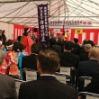 西九州自動車道 南波多谷口IC~伊万里東府招IC の開通式が行われました。南波多の新時代到来です。