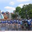 富岡八幡宮例大祭 〈消防ホースの水かけ〉