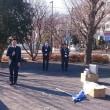 シルバー人材センターの道路清掃ボランティアに参加