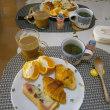めかぶ茶スープで健康UPな朝ごはん