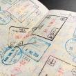 真新しいパスポート