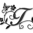 蝶々×お花×ツタ×葉っぱをモチーフにしたデザインの妻飾り