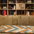 ヘリンボーン板作り(DIY)