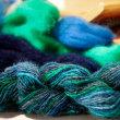 壬生織教室で糸を紡ぐ