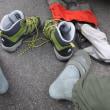 ミズノの靴下とトレクスタの登山靴を追放したら 今年の冬は快適な山歩きが出来ました。