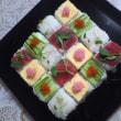 今月のお寿司(モザイク寿司&ミニばら)