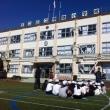 足立区の寺地小学校でリングビーの出張授業①