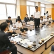 境町中学生沖縄県国頭村リーダーシップ研修事業の研修報告に来庁