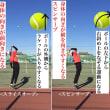 ■サーブ スピンサーブの基本的な打ち方①「身体の向き」〜才能がない人でも上達できるテニスブログ〜