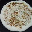豆腐と納豆のピザ