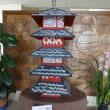 手作りの国宝五重塔