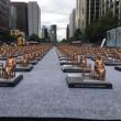 韓国ソウルの広場に慰安婦像500体が展示wwwwww 圧倒されるド超迫力! 「像は被害者の数!」