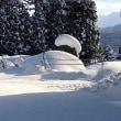 大雪からの晴天