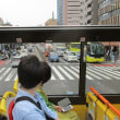 はとバスに乗って東京見物
