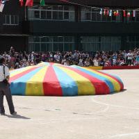 幼稚園最後の運動会と13万キロ越えのヴェクスター125のタイヤ交換
