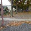 11月18日 本日は青柳自治会において青柳稲荷神社境内と周辺道路の清掃を行いました