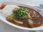 お昼ご飯☆水炊きのリメイクで~和風きのこカレー☆