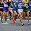東京マラソンの応援に日本橋へ