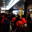 岡山駅到着