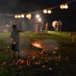 塩尻市北小野伝統行事「どんぶりや」小学生により行われた。