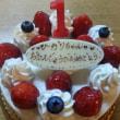 ひかり1歳の誕生日