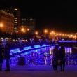 冬の小樽 ブルーライト運河