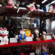 京都伏見人形「丹嘉」でキツネの土人形を買いました