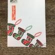 クリスマスの絵手紙