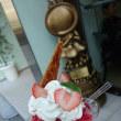 桃のスペシャルパンケーキ