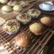 土曜の子供パン教室・・・お好み焼きパン、UFOパン