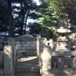 品川区指定史跡「伊藤博文墓所」