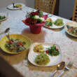 <母の日のイタリアンな夕食>