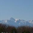 冬晴れの山