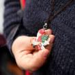 ドイツ・クリスマスマーケット大阪  錫製ペンダント