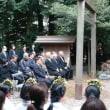 松尾神社慰霊大祭行われる