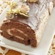 シャンティショコラのロールケーキ