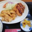チキンソテー&豚バラカツ定食