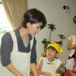 ミヤカグ木のキッチンでキッズ料理教室「コロッケ定食」作りに参加
