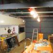 車庫のリフォーム工事
